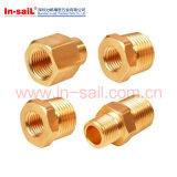 CNCの精密機械化の黄銅によって回される部品の中国製製造者