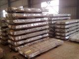 Haut niveau de bonne qualité de la plaque de toiture PPGI trapézoïdal en acier