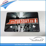 O smart card plástico do negócio em branco UV do ponto RFID imprimiu