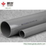 Tubo di acqua grigio della plastica UPVC MPVC del rifornimento della fabbrica