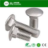 Болт с квадратным подголовком из нержавеющей стали (DIN 603)