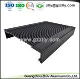 Extrusão de alumínio para equipamento de áudio do carro radiador com a norma ISO9001