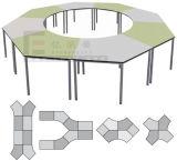 학생을%s 결합 다채로운 독서 테이블