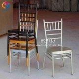 Couleur or wedding Hotel Chiavari en aluminium Président de l'événement