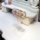 La vente en gros a personnalisé les stands acryliques de collier de T-Barre sans traitements acryliques