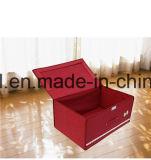 Caixa de armazenamento Foldable da tela do poliéster da grande capacidade