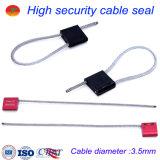 Sicherheits-Dichtungs-Kabel-Verschluss-Kabel-Dichtung (3.5mm)