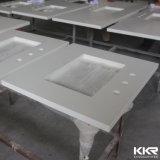 изготовленный на заказ<br/> 62&quot; белого цвета искусственного камня Quartz Кухонные мойки
