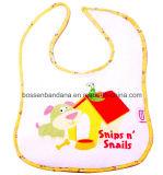 Fabrik-Erzeugnis-kundenspezifisches Firmenzeichen gestickter orange Baumwollterry-saugfähiger Baby-Schulter-Schellfisch
