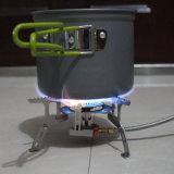 전자 난로를 접히는 소형 휴대용 옥외 쪼개지는 야영 가스 스토브