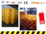 Segurança cheio de água de plástico balde de colisão