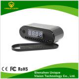 1080P IP WiFi Remote Relógio digital com câmara oculta HD 136 lente ampla