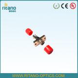 FC Adapters Met beperkte verliezen van de Aanslutingen van de Aanleg van kabelnetten van het Lichaam van de vezel de Optische Vierkante Stevige