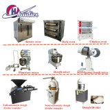 A linha de produção de pão francês, a linha de produção de pão de hambúrguer, croissant linha de produção de pão, torradas, pão de equipamentos da linha de produção