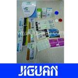 Adhesivo permanente de diseño libre de productos farmacéuticos de la etiqueta de 10ml frasco