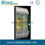 Visite de verre feuilleté Vvvf ascenseur panoramique/ Ascenseur