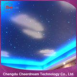 0,75 mm 2700m/el extremo del rodillo de fibra óptica de la luz de techo de estrellas