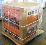 Walmart-Ladeplatten-Bildschirmanzeige mit stapelbarem Pdqs Einzeln-Farbe Pappbildschirmanzeige-China-Hersteller des Offsetdrucken-OEM/ODM