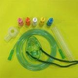 단일 용도를 위한 최신 판매 조정가능한 Portable PVC 벤투리 산소 얼굴 가면 또는 다중 환풍 산소 마스크