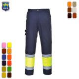 Hi Vis Pantalon de travail de mens avec poches latérales