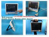 Dernières actualités Smart Tablet PC de poche l'échographie/Grand écran tactile haute résolution Ultraound Machine/échographe avec des éléments 96