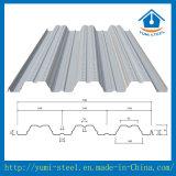 Strato d'acciaio ondulato di Decking del pavimento del metallo Yx76-305-915