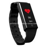 Braccialetto astuto del Wristband dell'inseguitore di forma fisica di frequenza cardiaca del video della vigilanza astuta di sport