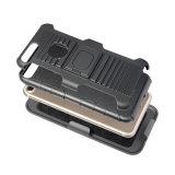 プラスiPhone 7/8のための1つのTPUのパソコンのハイブリッドKickstandの携帯電話の箱に付き2つ