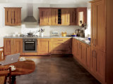 Het moderne Stevige Houten Wit van de Keukenkast van de Organisator van de Keukenkast