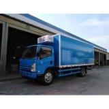 LHD Isuzu 4X2 5tons Gekoelde Diepvriezer Van Truck