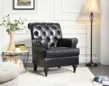 Presidenza domestica del sofà del cuoio del tasto del salone della mobilia