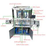 Goma automática del pistón y máquina de rellenar del líquido para el jugo (GT4T-4G)