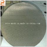 Rete metallica olandese del filtro a disco dell'acciaio inossidabile