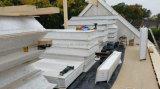 Сборные дома на стене крыши используется Сэндвич панели