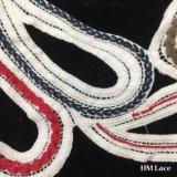 31*28cm покрасили Applique шнурка ворота хлопка для конструкции Bridal украшения корабля Costume вспомогательного оборудования кофточки красивейшей самой последней с тканью Hm2011 шнурка шеи формы сердца