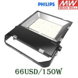 5 Year Warranty를 가진 UL TUV 세륨 Meanwell Driver IP65 Flood Light High Power 100W/150W/200W 100lm/W Slim LED Flood Light