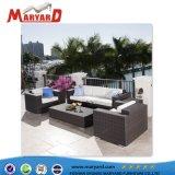 高品質の屋外の藤または枝編み細工品のソファーの椅子の部門別の家具