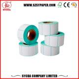 Escritura de la etiqueta auta-adhesivo termal modificada para requisitos particulares imprimible