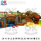 Подгонянное оборудование спортивной площадки парка атракционов крытое для малышей