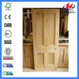 Porta interior do abanador do quarto da madeira contínua de Whiite (JHK-004P)