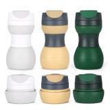 BPA livram o copo de café dobrável reusável do volume grande com exercício