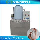 Refroidi par eau flocon de neige Machine à glaçons concasseur autostable de la machine