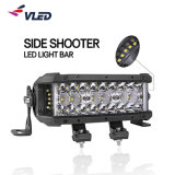 """8"""" 14"""" 22"""" LED de alta potência com carro lateral duplo da Barra de Luzes da Barra de Luzes automáticas de atirador para o SUV Jeep Offroad"""
