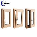 Double horizontal vitres coulissantes en aluminium recouvert de surface PVDF Profil