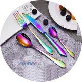 Cerimonia nuziale d'acciaio delle posate della macchia della coltelleria del Rainbow di Paibee/accessori del ristorante/padellame/articoli per la tavola