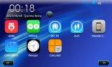 Навигация автомобиля экрана касания DIN сердечника 2 квада емкостная с iPod 3G Vmcd FM Am Bt для Emgrand Ec7 2012