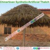 Thatch di foglia di palma sembrante naturale di Palapa del Thatch artificiale sintetico impermeabile a prova di fuoco del Thatch nei Maldives Bali