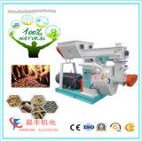 Máquina del granulador de la pelotilla de la cáscara del arroz para la fabricación de la briqueta