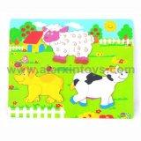 Cute Animals (81219に81223)の木のPuzzle