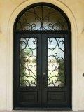 [رووند توب] ورفاهية برونزيّ مدخل حديد باب تصميم